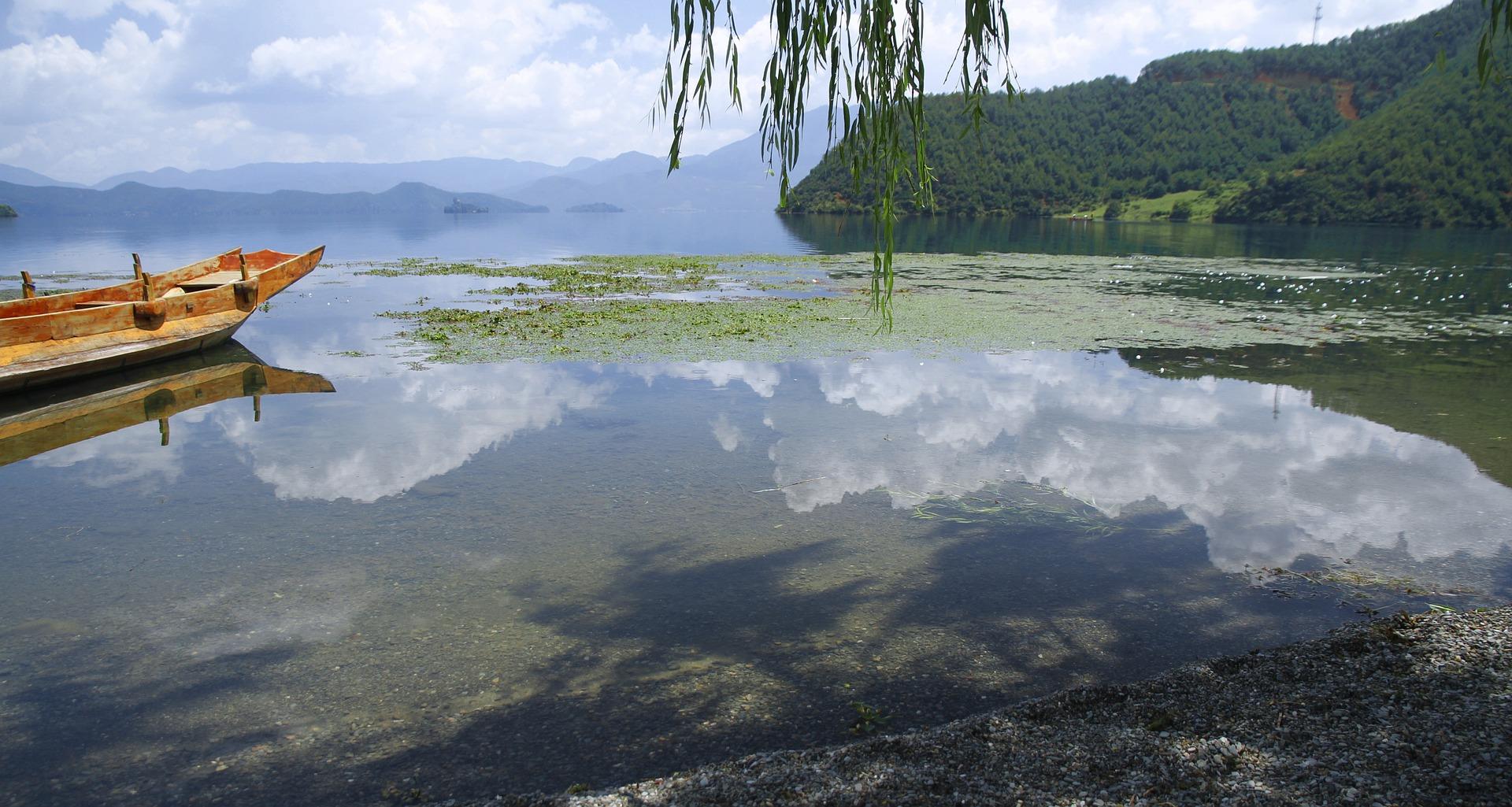 lugu lake z Yunnanu